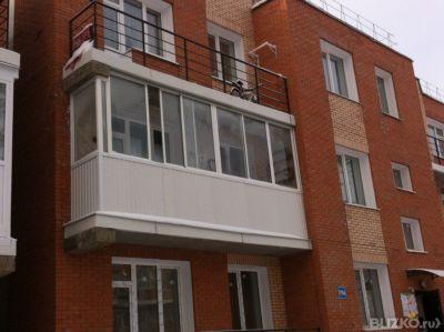 Остекление балкона 3 метра от компании гринлайн купить в гор.