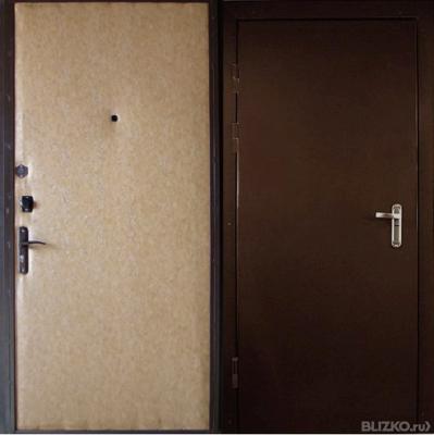 стальные двери в коломне цена