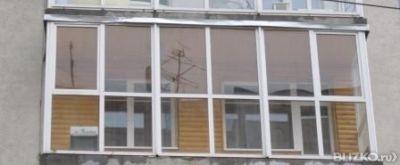 Остекление пвх лоджии 6 метров от компании добрые окна купит.
