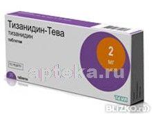 Тизанидин-тева 0,002 n30табл ТЕВА от компании Apteka.ru-Пенза ...
