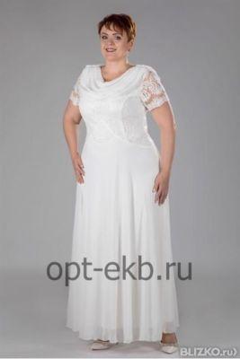 d91c0fa8eb91998 Свадебное платье из шифона Размер 52-58 от компании Женские платья ...